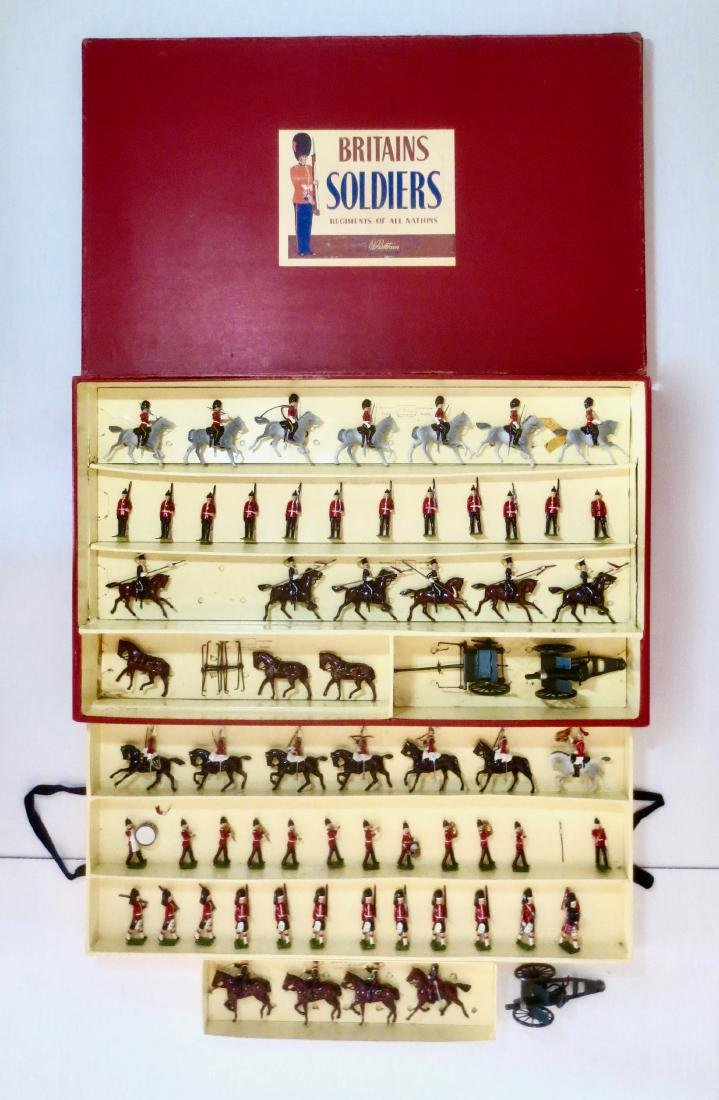 Britains Double Tray Boxed Display Set #73