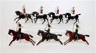 Britains Mounted Lifeguard  Hussar Assortment