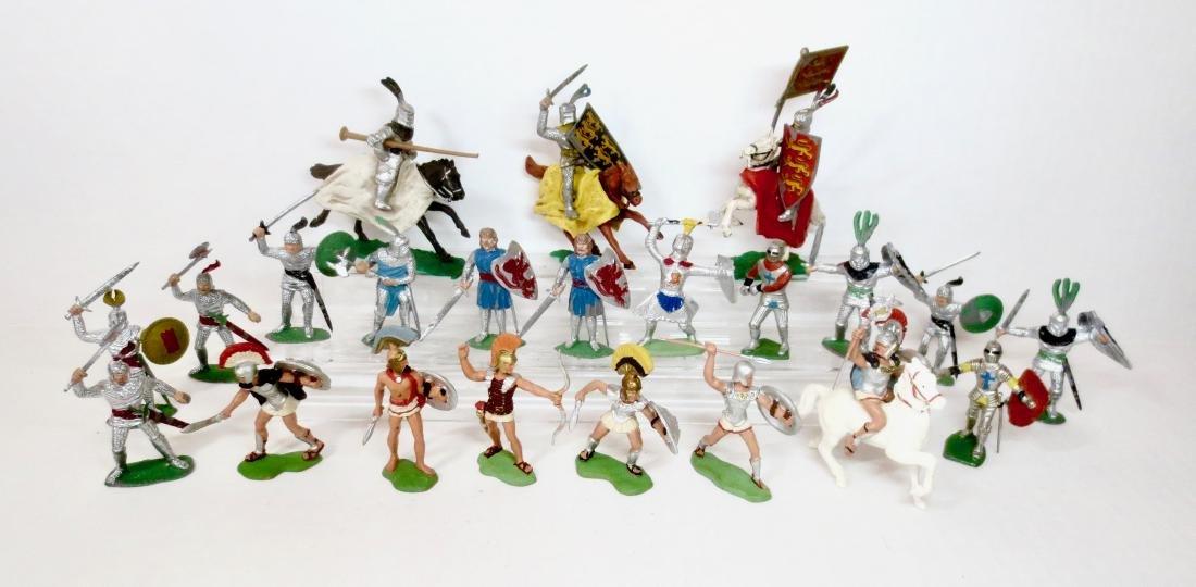 Various Makers Plastic Medieval & Ancient Greeks