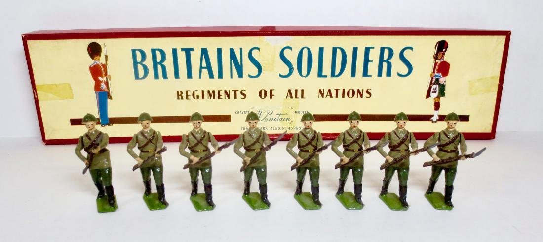 Britains Set #2032 The Red Army Infantry