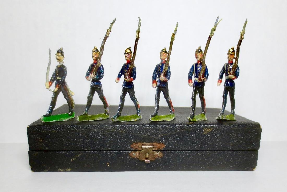 Hans Dorfler Prussians Marching