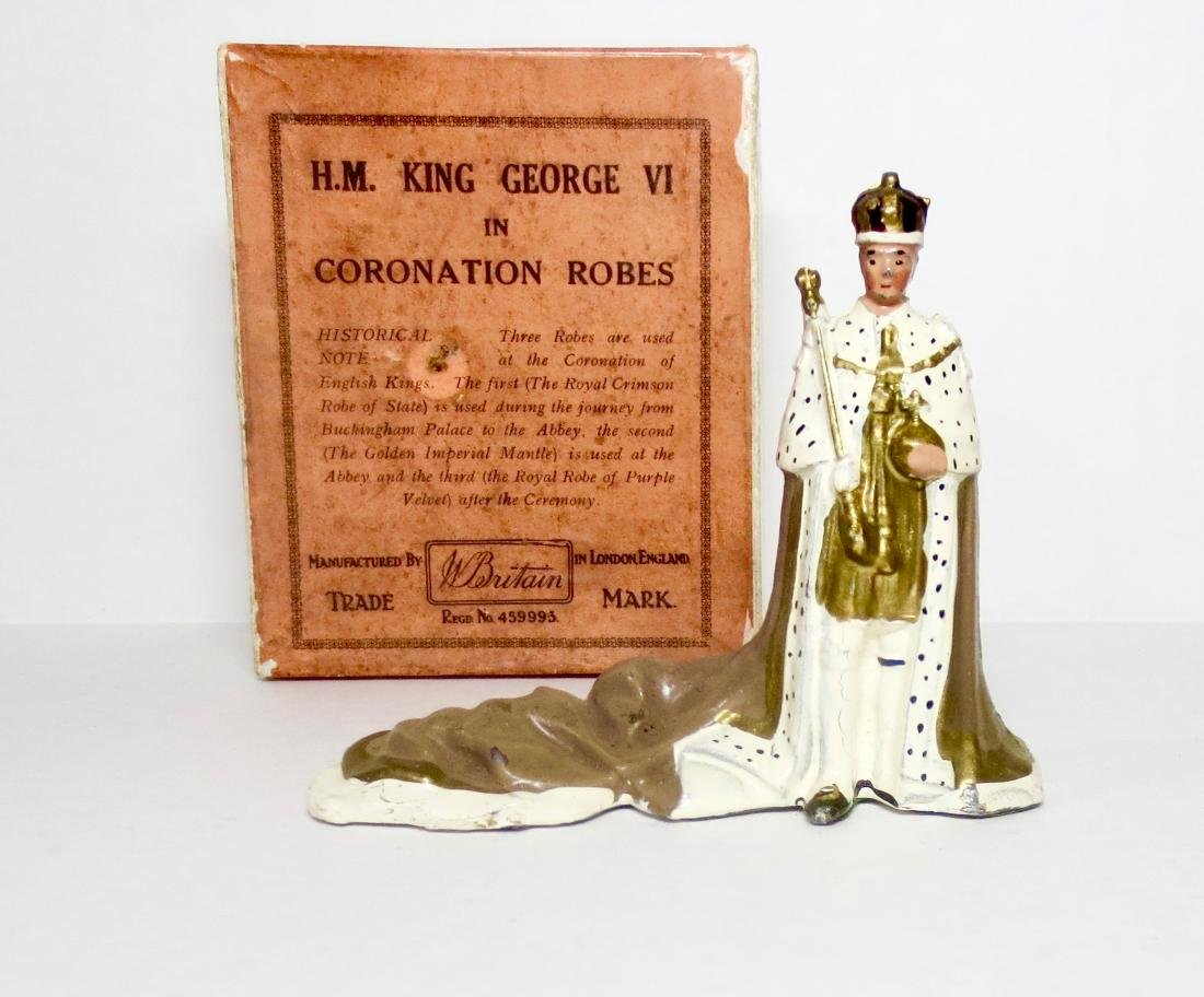 Britains #1473 H.M. King George VI