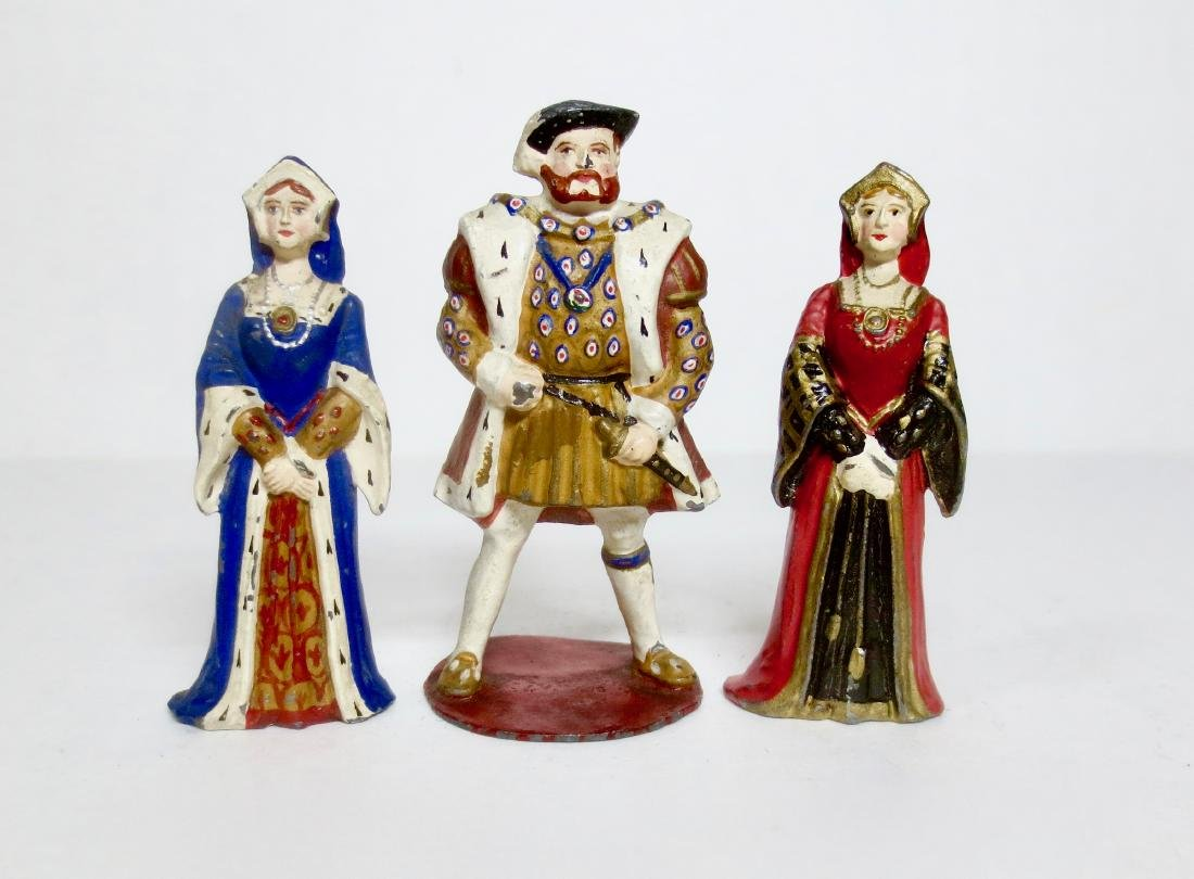 Courtenay King Henry VIII and Two Wives