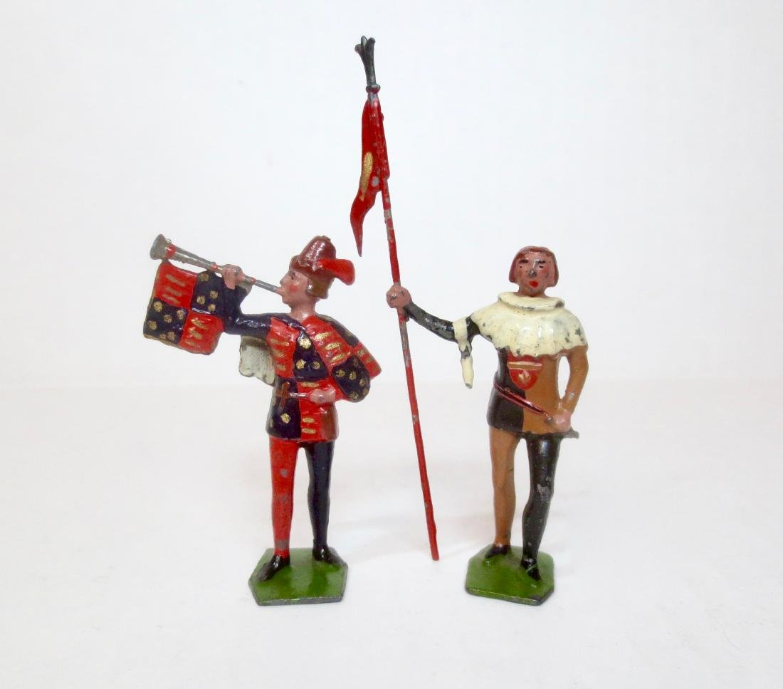 Britains From Set #1258 Herald and Squire