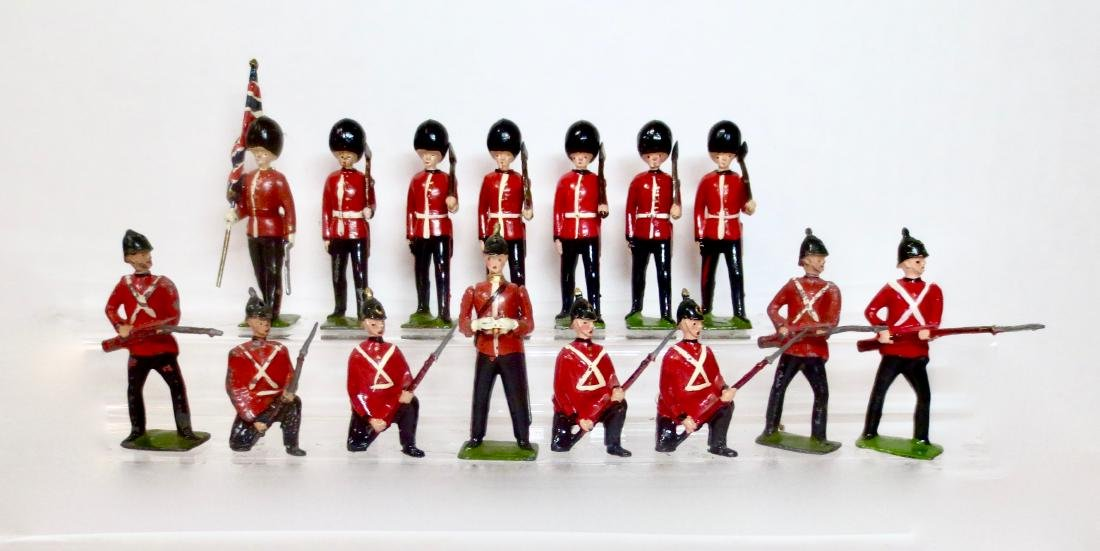 Britains Assortment from Sets #17 and #82