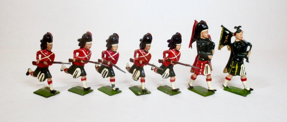 Britains From Set #11 Black Watch Highlanders