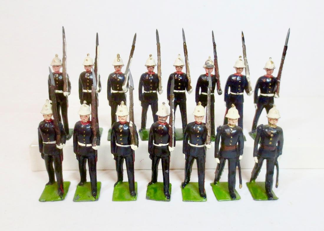 Britains From Set #35 Royal Marines