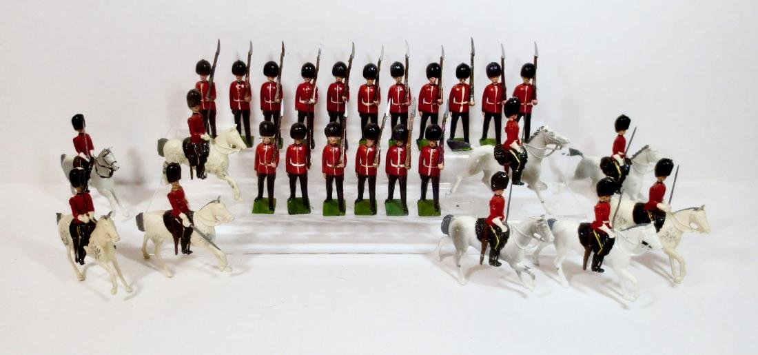 Britains Large Scots Guards and Greys Assortment