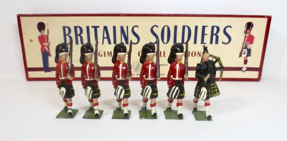 Britains Set #77 The Gordon Highlanders