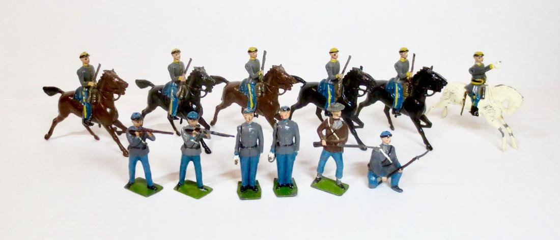 Britains Civil War Confederate Assortment