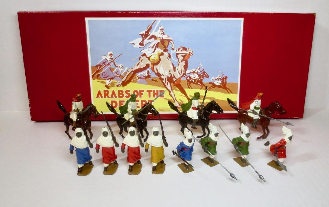 Britains Set #2046 Arabs of the Desert Display