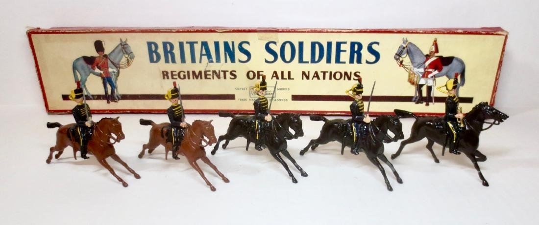 Britains Set #8 4th Queen's Own Hussars