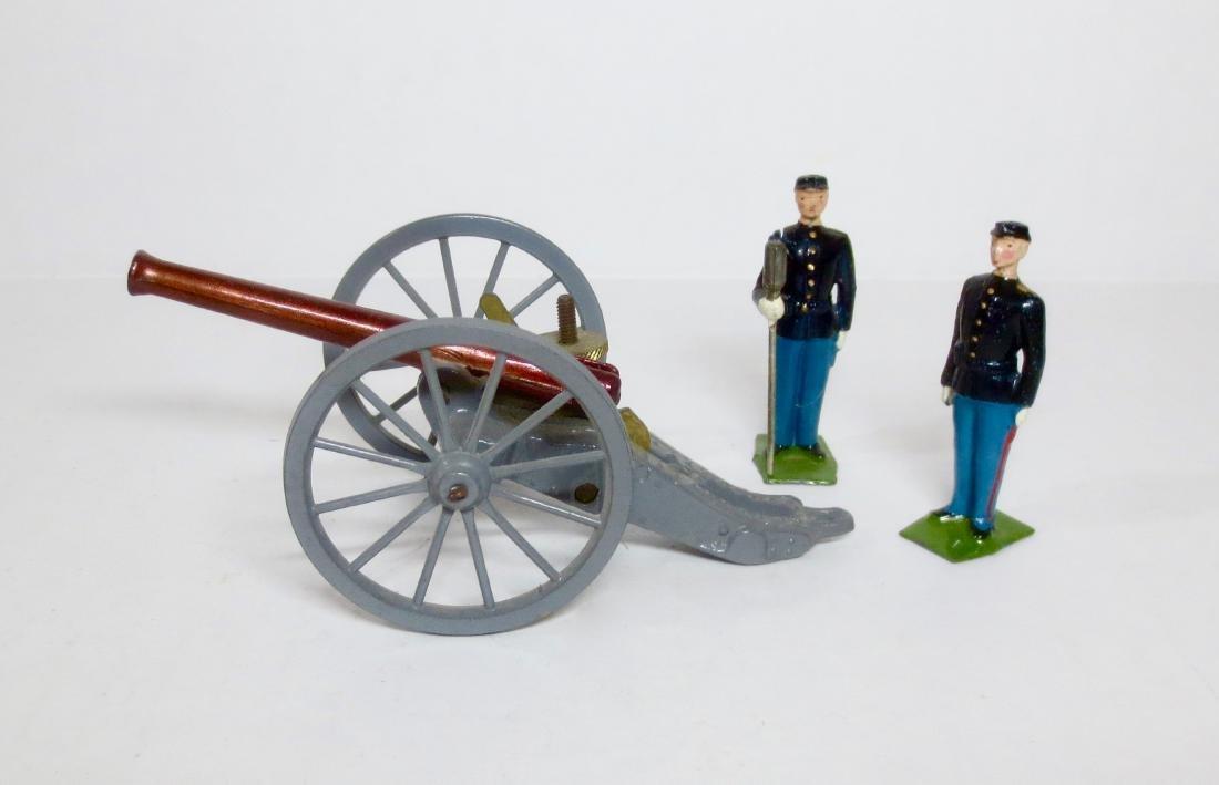 Britains Set #2057 Civil War Union Gun Team