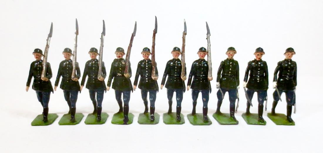 Britains From Set #432 German Infantry