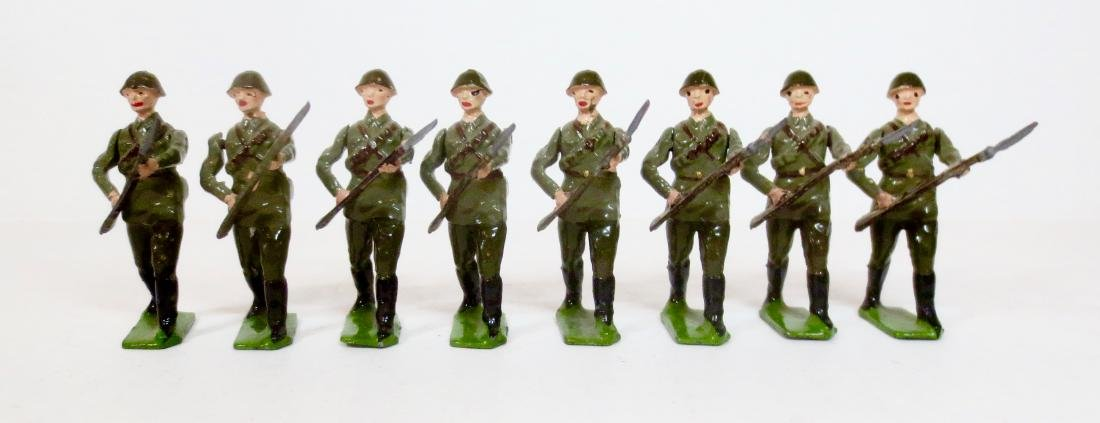 Britains Set #2032 Red Army Infantry