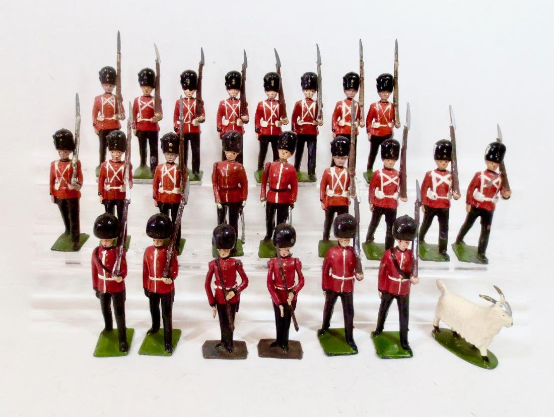 Britains Royal Welch Fusiliers & Irish Guards