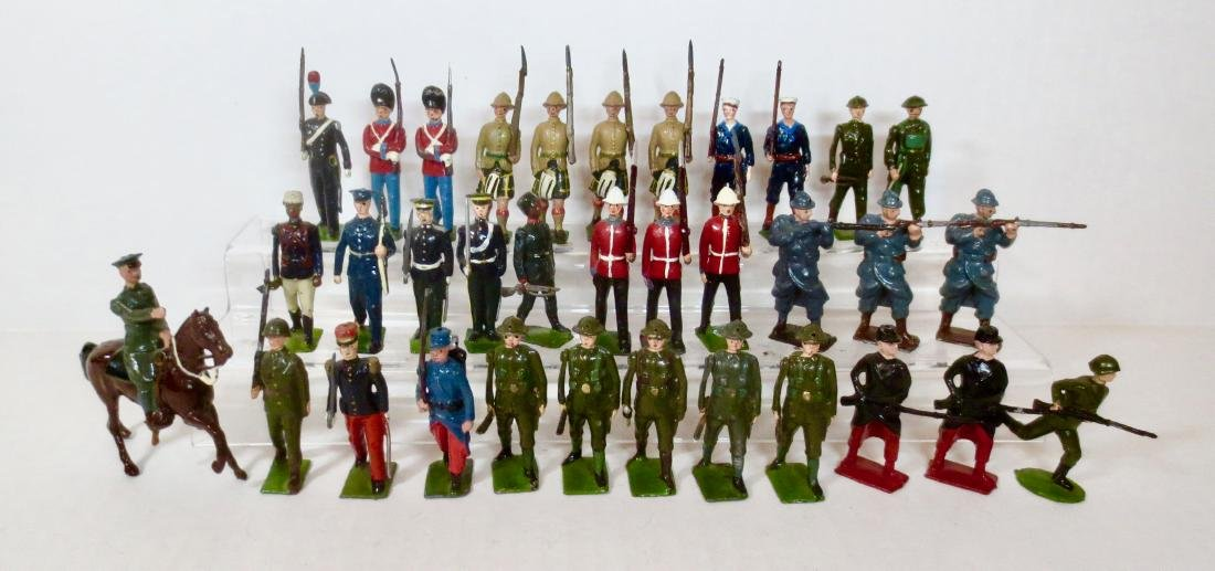 Britains Assorted Troops & Single Figures