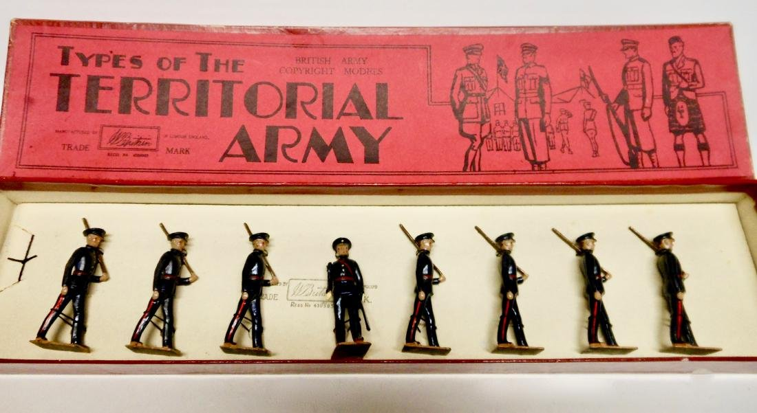Britains  Rare Set #1537 Territorial Infantry