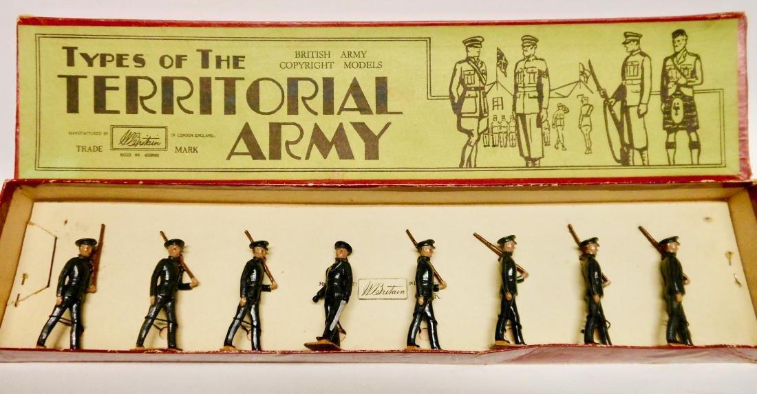 Britains  Rare Set #1538 Territorial Infantry