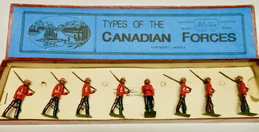 Britains Set # 1632 Canadian Light Infantry