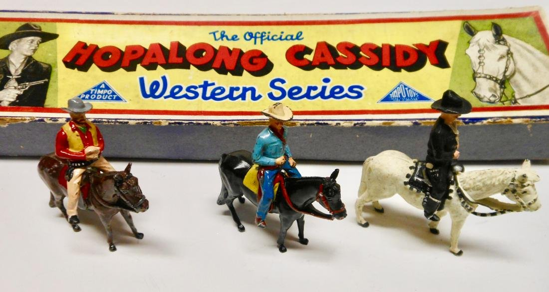 Timpo Hopalong Cassidy Set