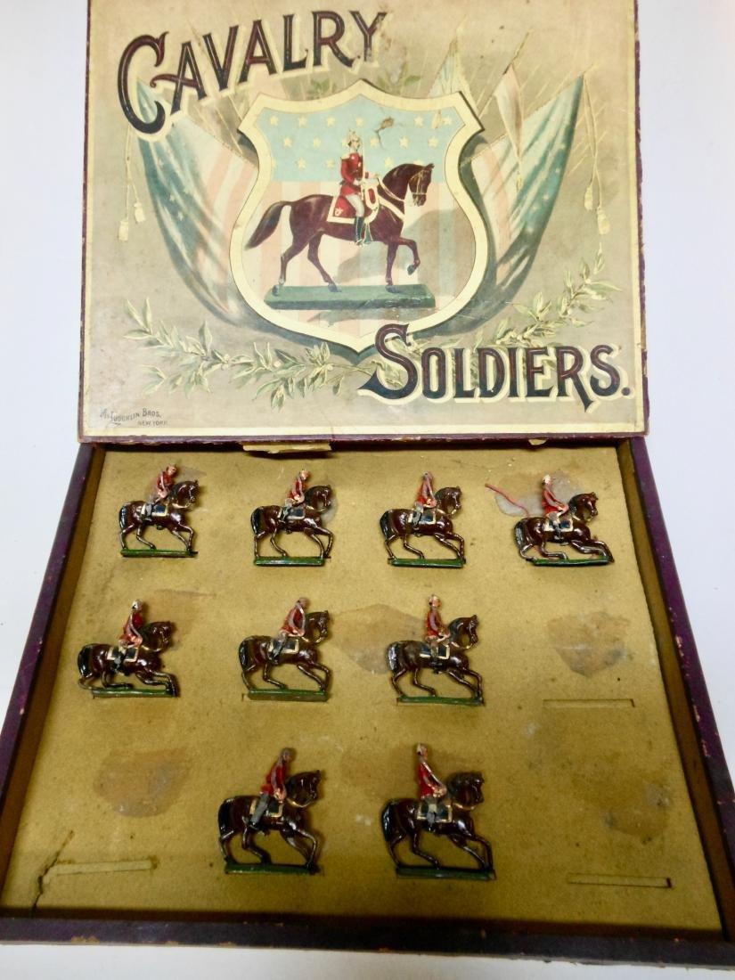 "McLaughlin Set ""F"" Mounted US Infantry"