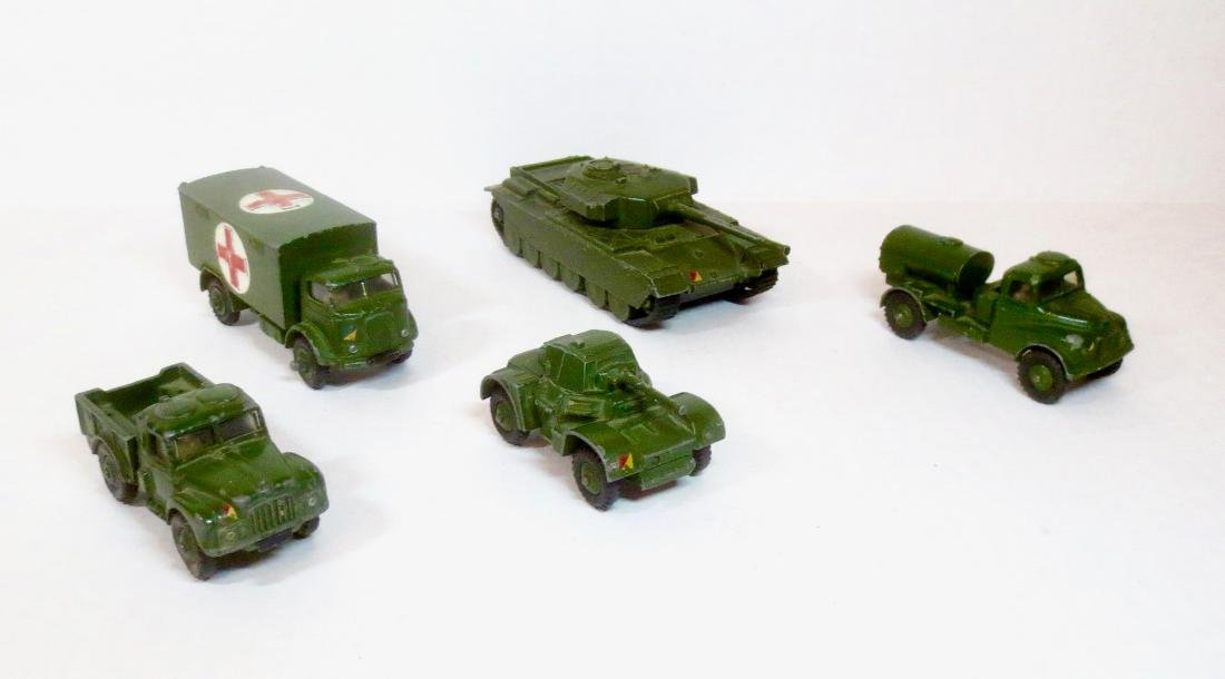 Dinky Military Vehicle Assortment
