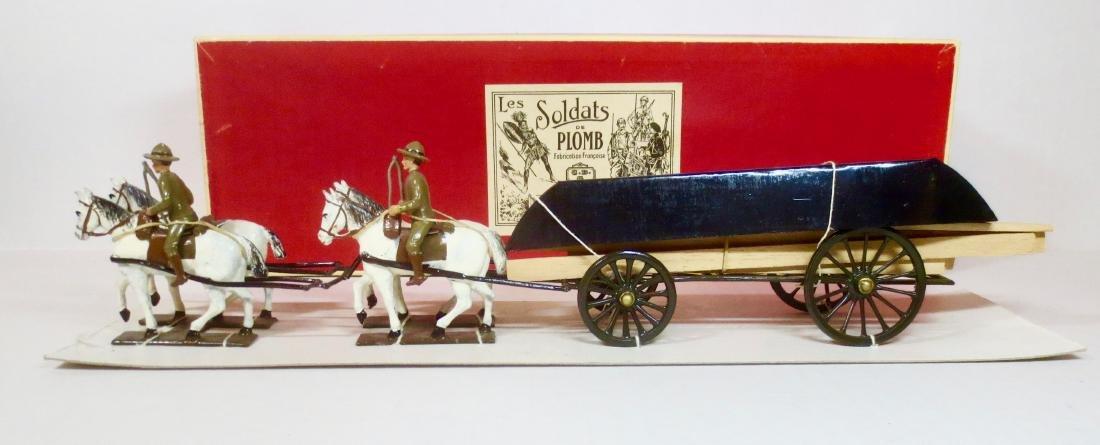 C.B.G Doughboys with Pontoon Wagon