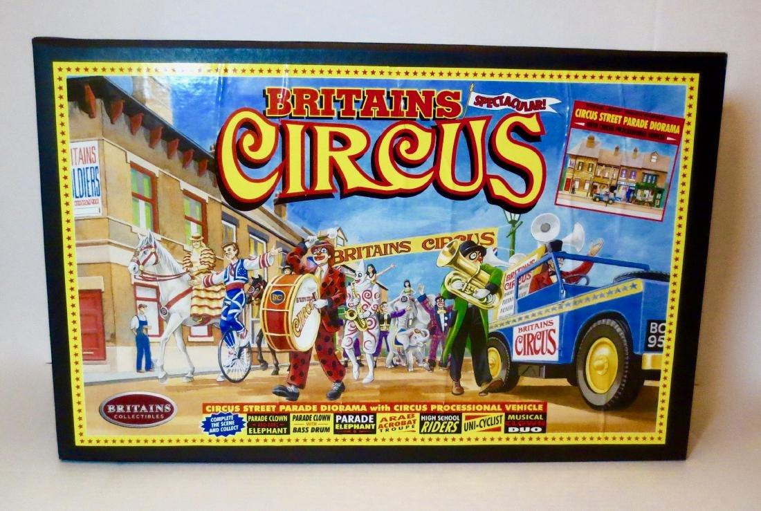 Britains #08673 Circus Street Parade Diorama