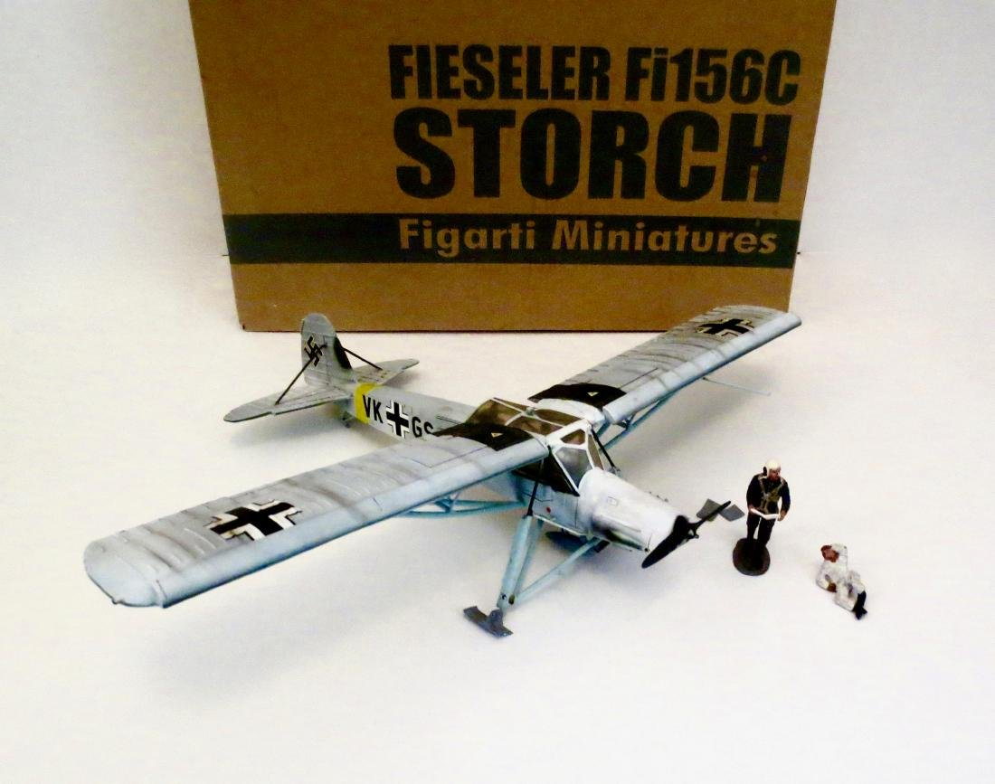Figarti Fieseler Fi156C Storch with Pilots