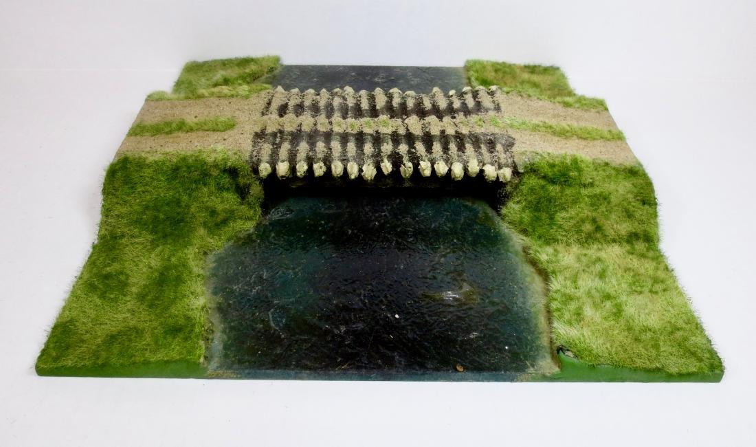 JG Miniatures Road Section with Bridge