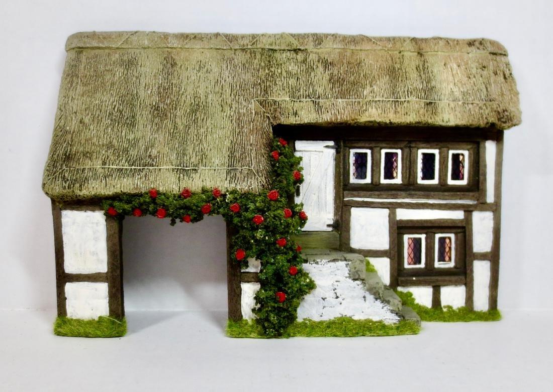 JG Miniatures Farmhouse Façade