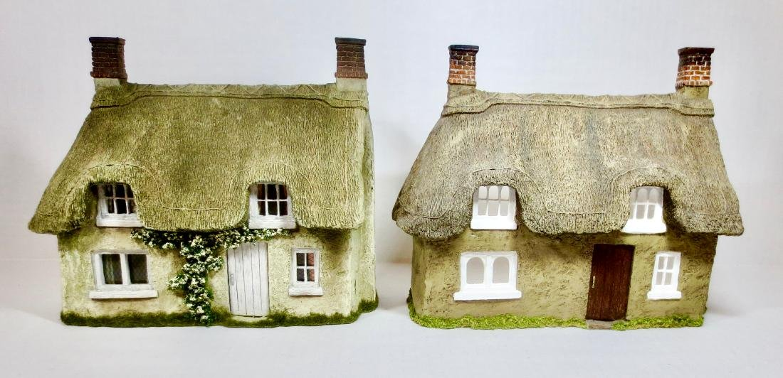 JG Miniatures Cottage Facades