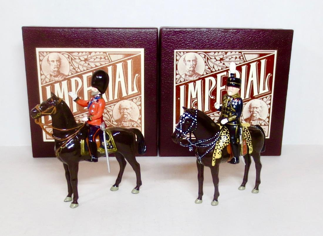 Imperial #20 and #27 H.M. King George V