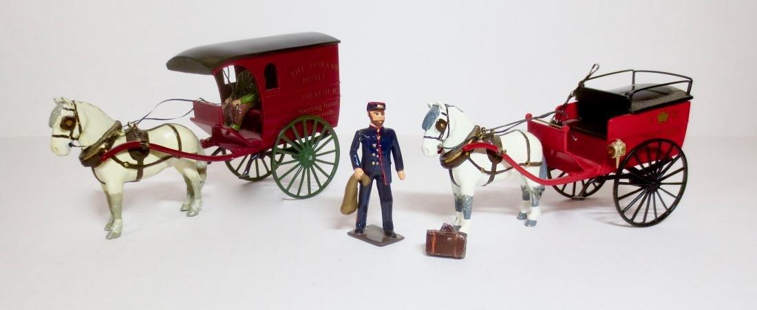 Gainsborough Miniatures Dowan's Hotel Cart and