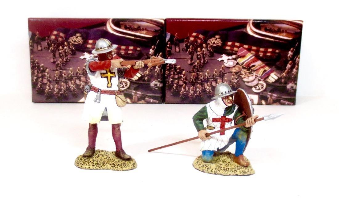 King & Country MK126 & MK127 Crusaders