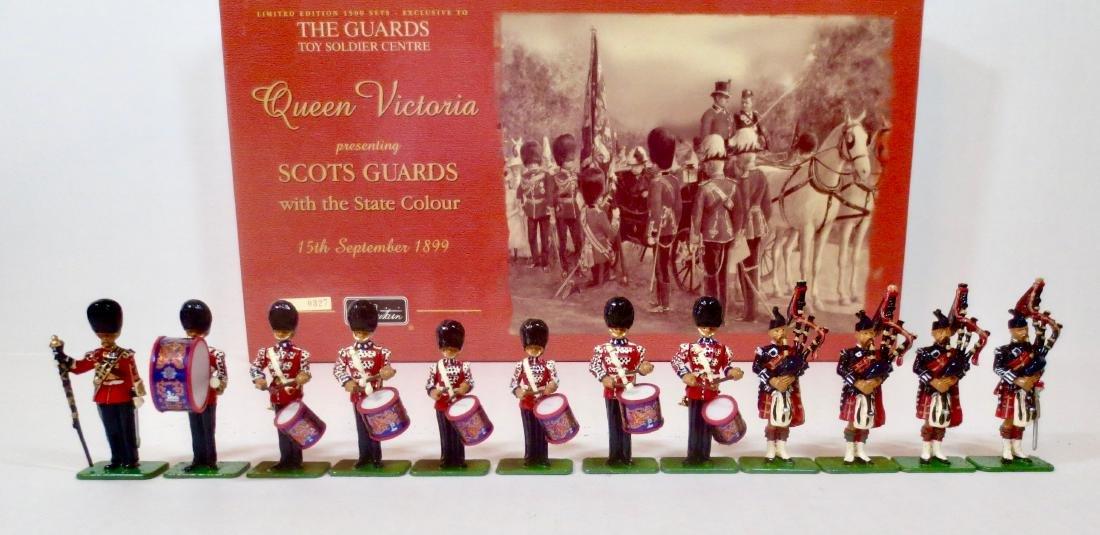 Britains Set #00214 Scots Guards Band