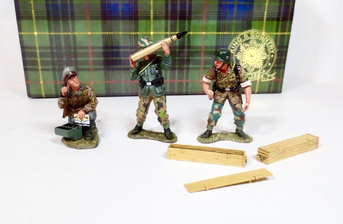 King & Country WS55 GERMAN ANTI-TANK GUN CREW