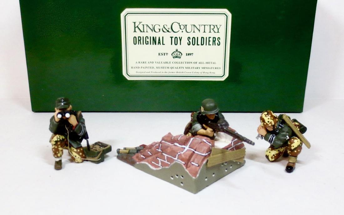 King & Country WS010 Gun Group & Wall