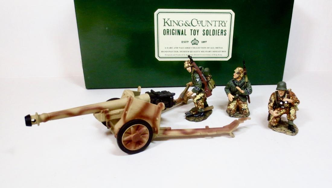 King & Country WS018 PAK 40 ANTI-TANK GUN & CREW