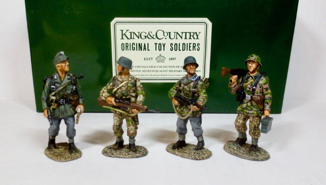 King & Country WS27 PANZER GRENADIERS