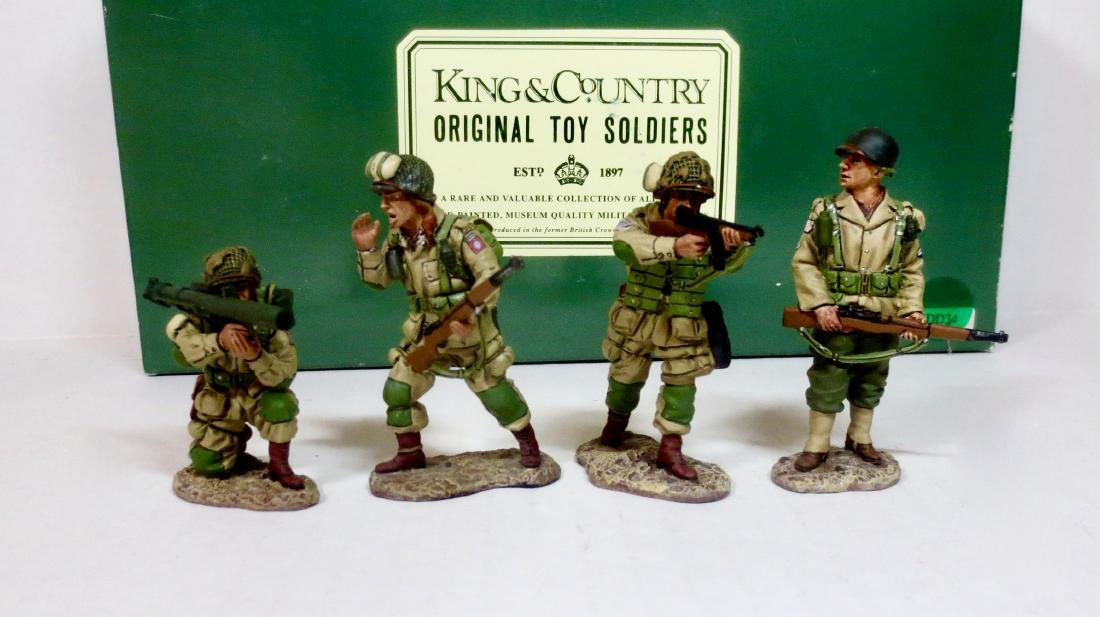 King & Country DD34 US Paratroopers