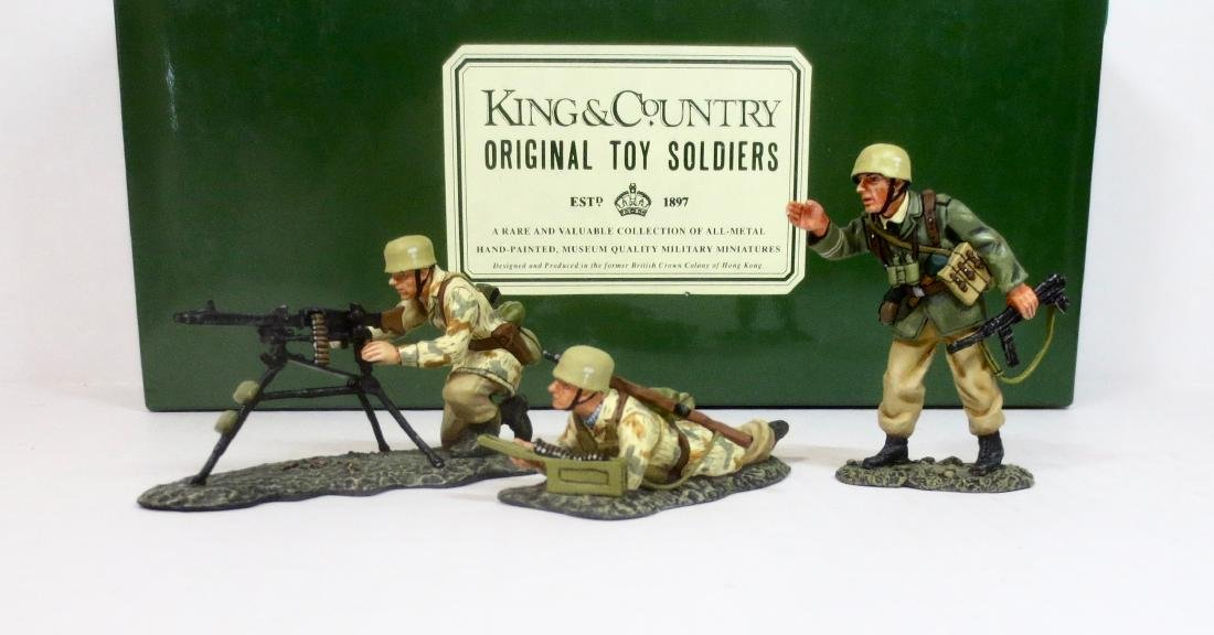 King & Country AK13 German Africa Corp MG Team