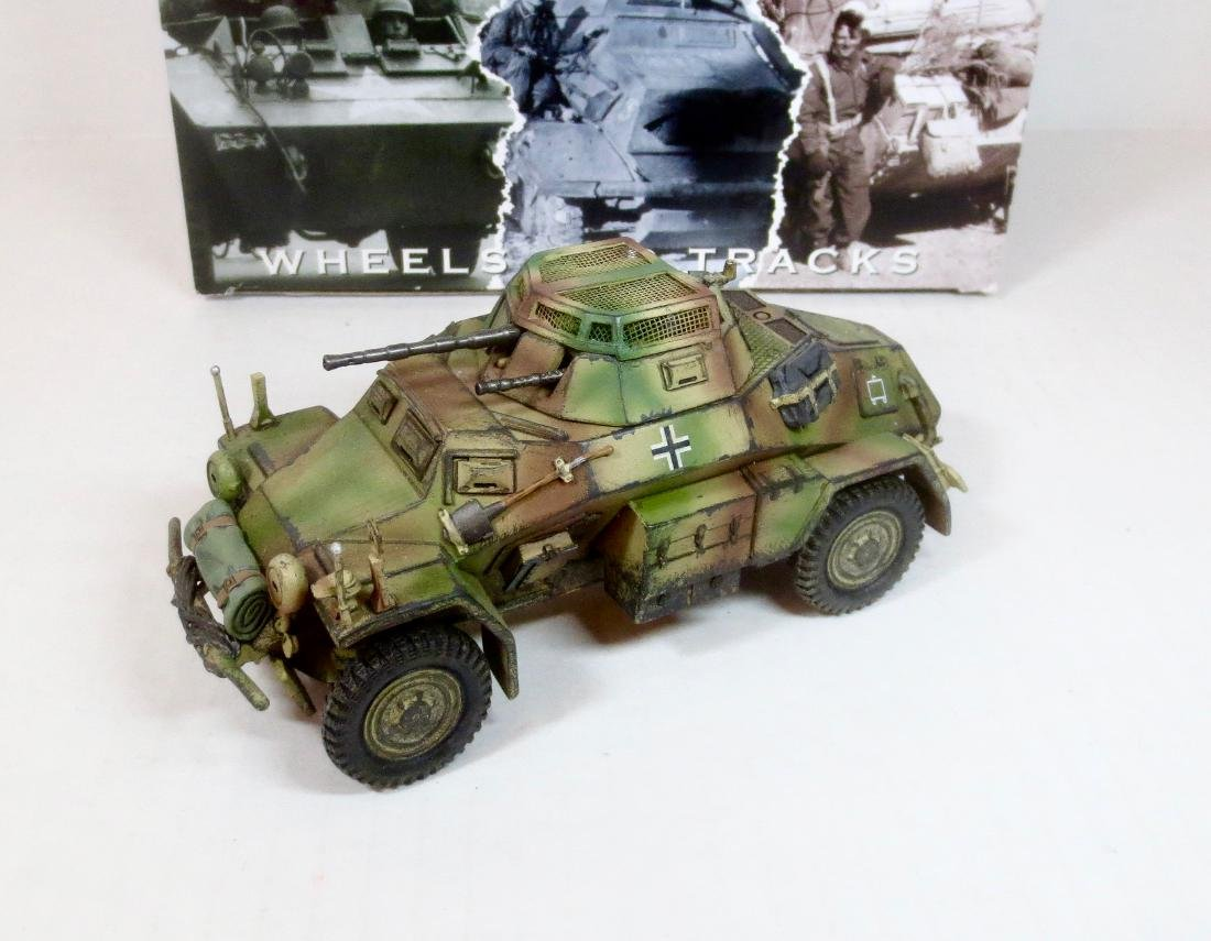 King & Country WS210 SD. KFZ. 222 ARMOURED CAR