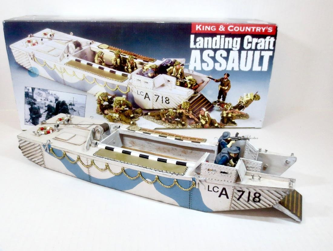 King & Country DD107 Landing Craft Assault
