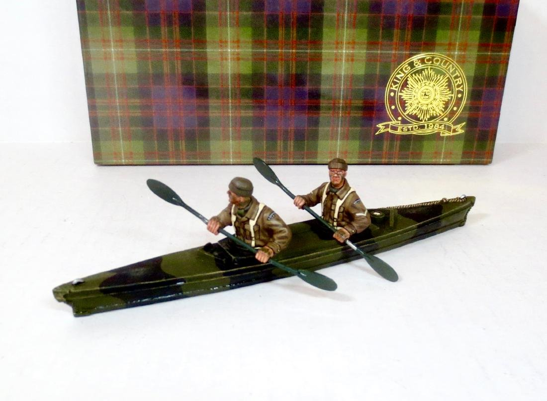 """King & Country DD238 """"Paddling into Battle"""""""