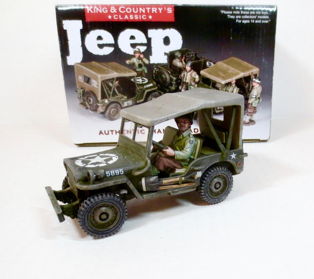 King & Country DD180 Jeep
