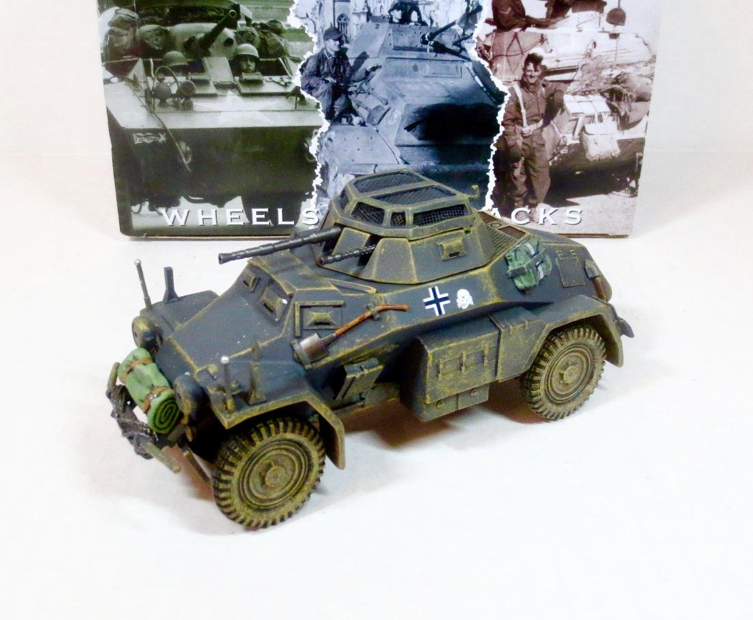 King & Country WS209 KFZ 222 Armoured Car
