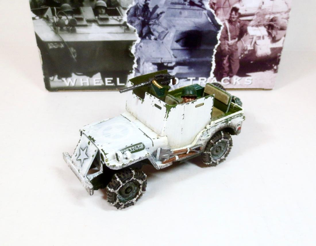 King & Country BBA050 US Armoured Jeep