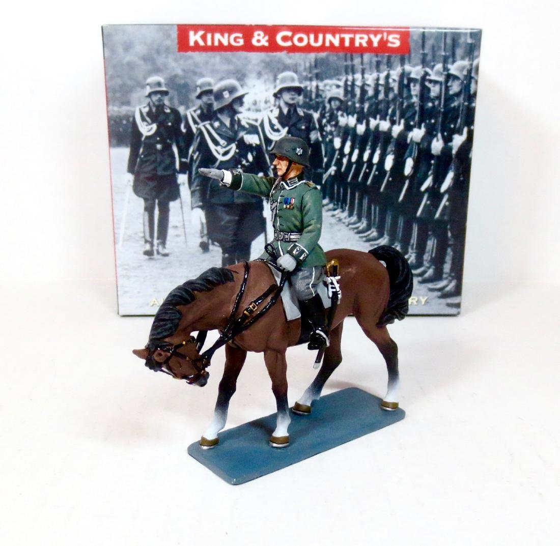 King & Country LAH63 Wehrmacht Mounted Officer